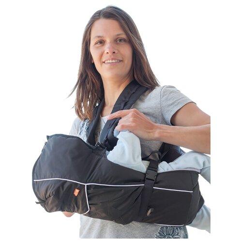 Купить Эргорюкзак Чудо-Чадо BabyActive Lux черный, Рюкзаки и сумки-кенгуру