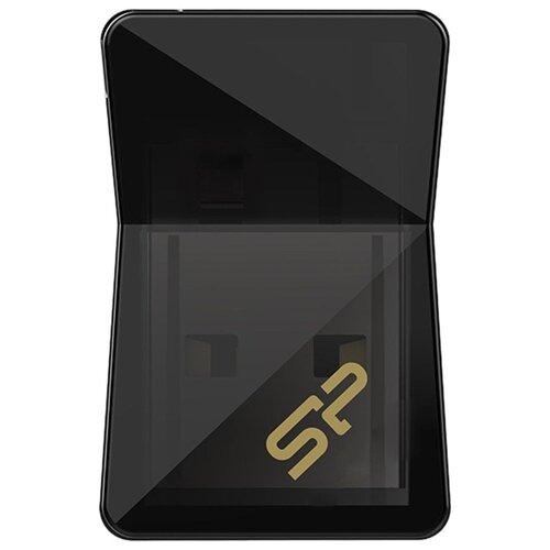 Фото - Флешка Silicon Power Jewel J08 8 GB, черный накопитель usb 3 0 8gb silicon power jewel j08 sp008gbuf3j08v1k черный