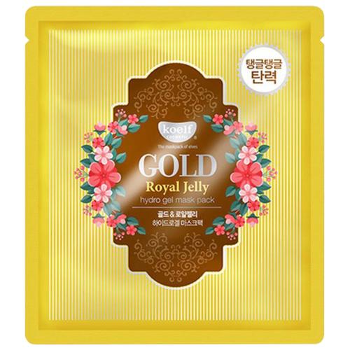 Koelf Гидрогелевая маска с золотом и маточным молочком, 30 гМаски<br>