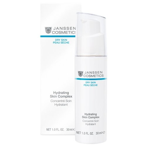 Купить Janssen Cosmetics Dry Skin Hydrating Skin Complex Суперувлажняющий концентрат для лица с гиалуроновой кислотой, 30 мл