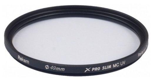 Светофильтр ультрафиолетовый Rekam X Pro Slim UV MC 49 мм