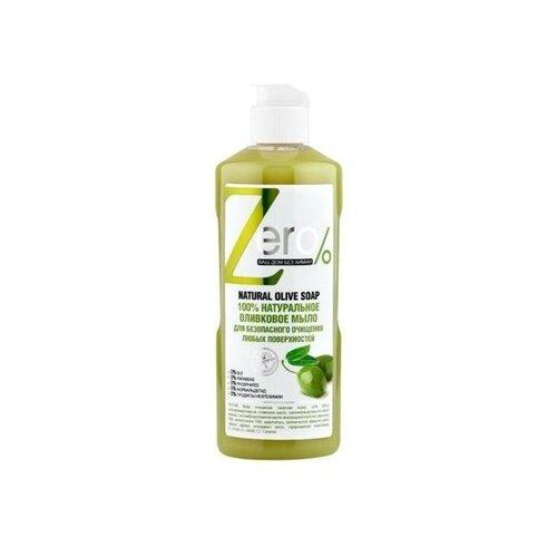 Zero% мыло для очищения всех поверхностей Оливковое 0.5 л