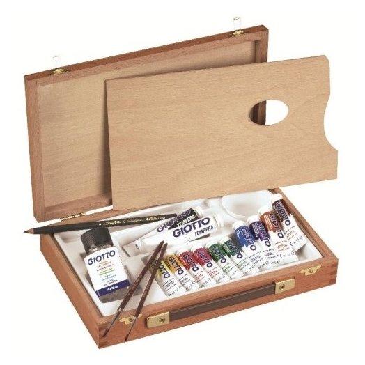 GIOTTO Набор для художника Wooden Case Basic (507000)