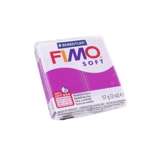 Купить Полимерная глина FIMO Soft запекаемая фиолетовый (8020-61), 57 г, Глина