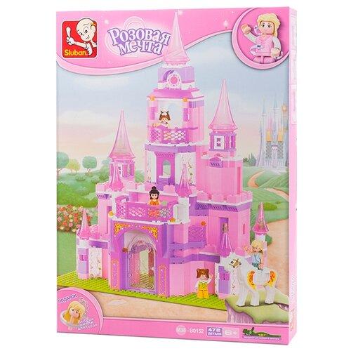 Купить Конструктор SLUBAN Розовая мечта M38-B0152 Замок принцессы, Конструкторы