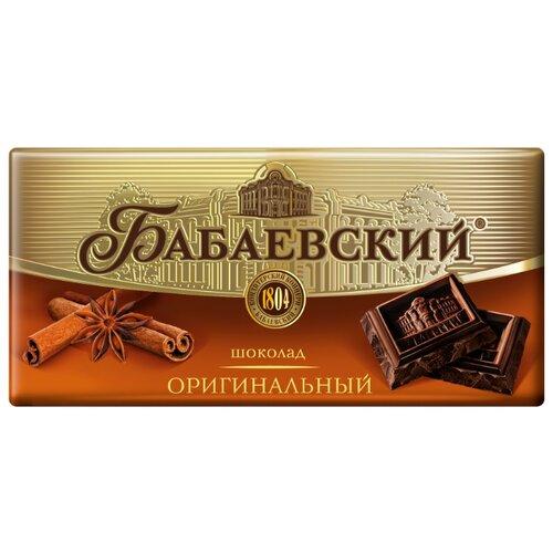Шоколад Бабаевский Оригинальный темный, 100 г