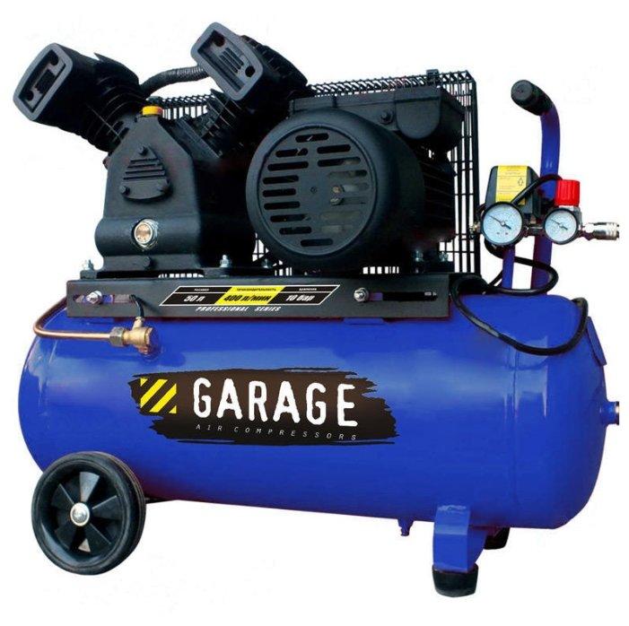 Компрессор масляный Garage PK 50.MBV400/2.2, 50 л, 2.2 кВт