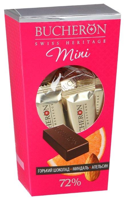 Набор конфет Bucheron Mini горький шоколад с миндалем и апельсином 171 г