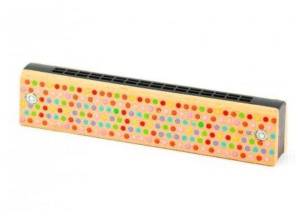 Мир деревянных игрушек губная гармошка LL162