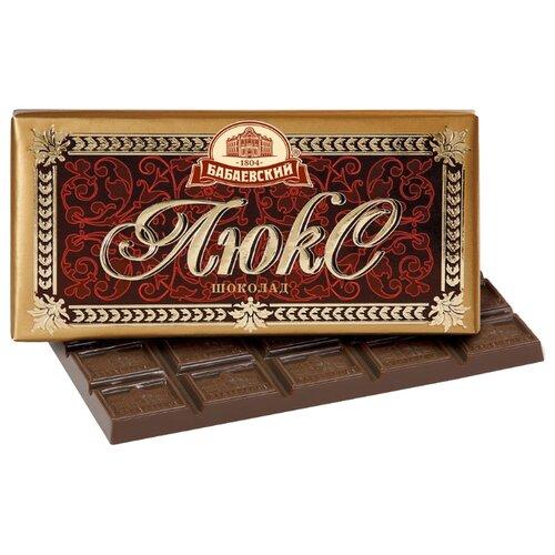 Шоколад Бабаевский Люкс темный, 100 г