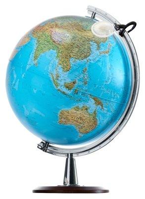 """Глобус """"ATLANTIS"""", двойная карта, диаметр 40 см, новая карта"""