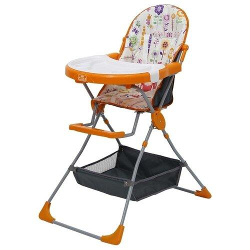 Стульчик для кормления Polini 252 яркий луг оранжевый стульчик для кормления inglesina my time цвет sugar az91k9sgaru