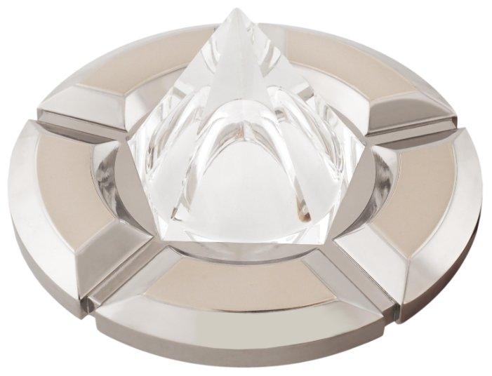 Встраиваемый светильник De Fran 16163 EQ, перламутровый никель / хром