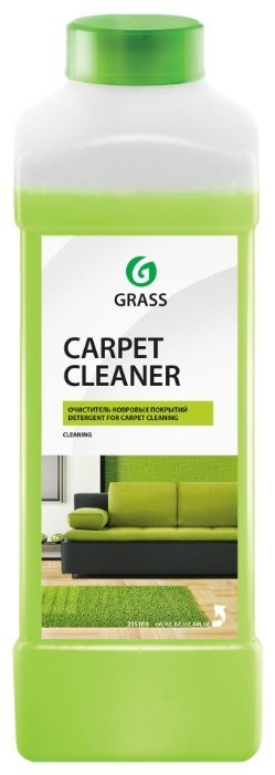 GraSS Очиститель ковровых покрытий Carpet cleaner — купить по выгодной цене на Яндекс.Маркете