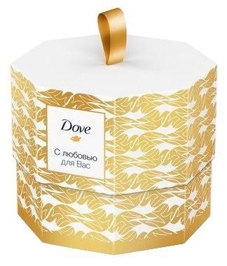 Набор Dove С любовью для Вас: крем-мыло Пробуждение чувств, крем