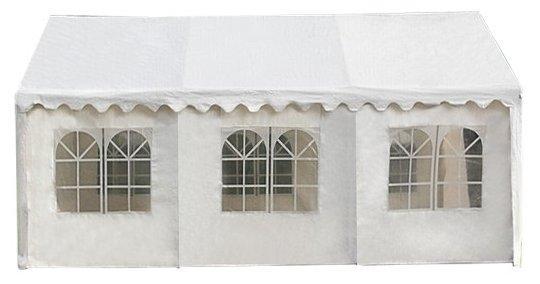 Садовый шатер 4х6 м AFM-1026W White (4х6) Афина-Мебель
