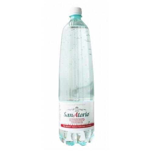 Вода минеральная лечебно-столовая Sanatorio газированная, ПЭТ, 1.5 лВода<br>