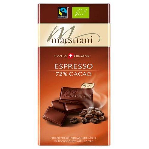 Шоколад Maestrani горький с кофе, 80 г цена 2017