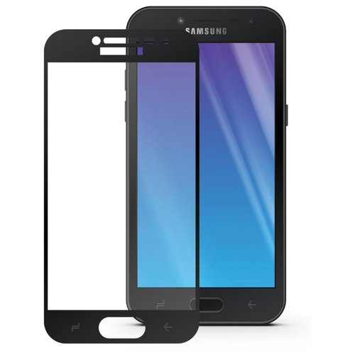 Защитное стекло Mobius 3D Full Cover Premium Tempered Glass для Samsung Galaxy J2 2018 черный аксессуар защитное стекло pero для samsung galaxy j2 2018 2 5d black