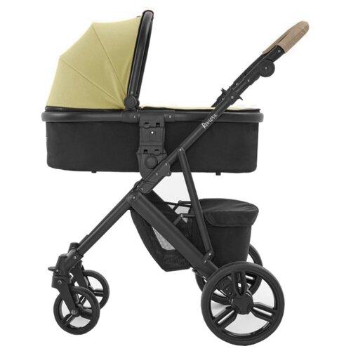 Купить Универсальная коляска Tutti Bambini Riviera (2 в 1) taupe/pistachio/BL черный, Коляски