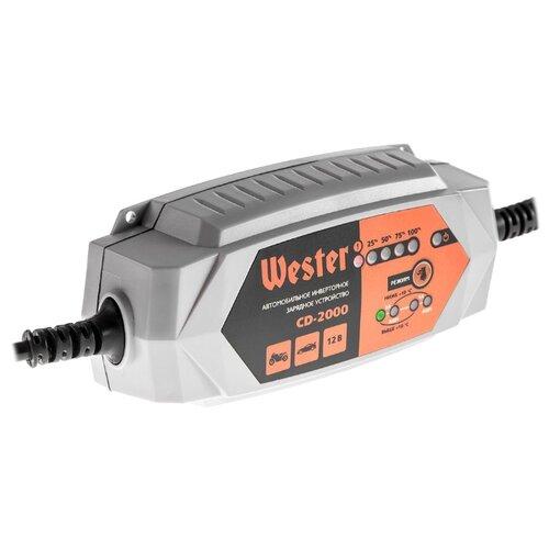 Зарядное устройство Wester CD-2000 серебристый