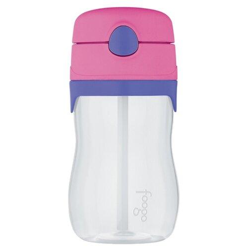 Поильник с трубочкой Thermos BP535, 325 мл розовый/фиолетовый
