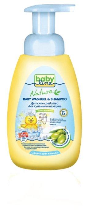 Купить <b>BabyLine Nature Средство для</b> купания и шампунь с ...