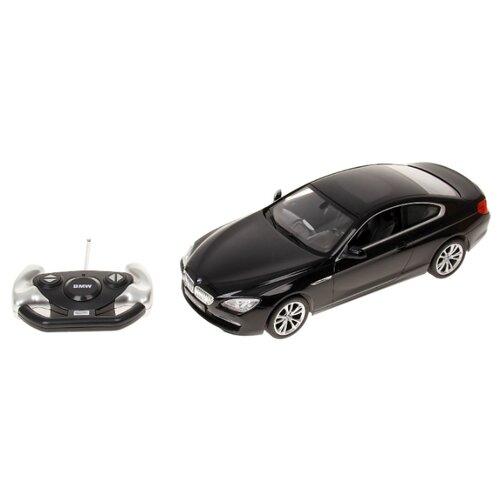 Легковой автомобиль Rastar BMW 6 Series (42600) 1:14 35 см черный автомобиль радиоуправляемый rastar 1 6 hummer h1 suv желтый