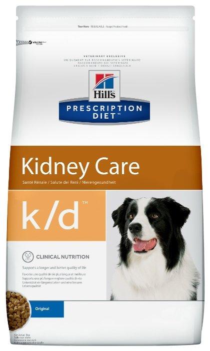 Корм для собак Hill's Prescription Diet K/D Canine Renal Helth dry
