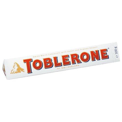 Шоколад Toblerone белый с медом и миндальной нугой, 100 гШоколадная плитка<br>