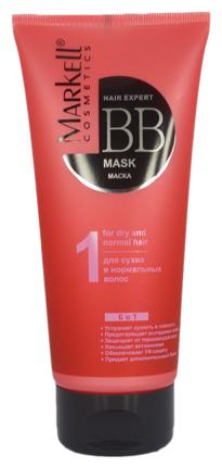 Markell HAIR EXPERT BB ВВ-маска для сухих и нормальных волос