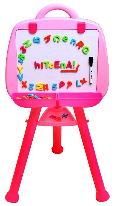 Доска для рисования детская Zhorya с магнитными буквами и цифрами (ZY098773)