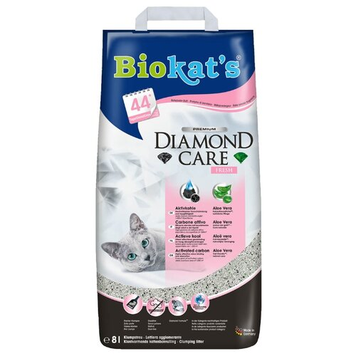 Комкующийся наполнитель Biokat's Diamond Care Fresh 8 л
