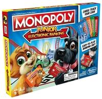 Настольная игра Hasbro Игры Monopoly Моя первая Монополия с терминалом
