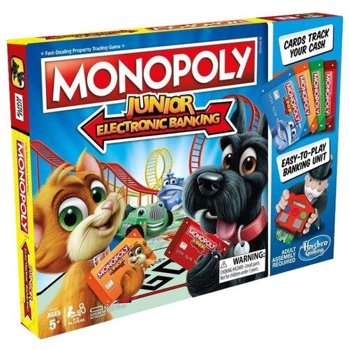 Купить Настольная игра Hasbro Игры Monopoly Моя первая Монополия с терминалом, Настольные игры
