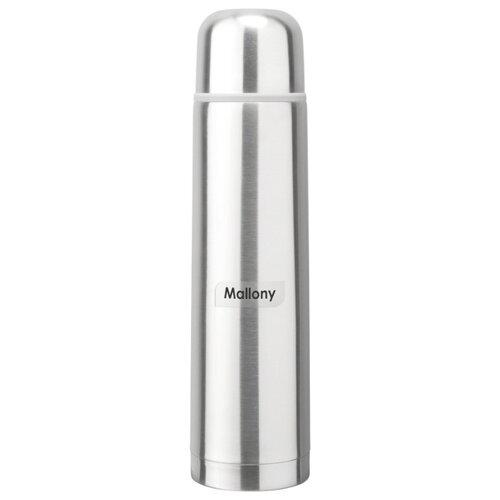 Классический термос Mallony Solido (1 л) серебристый
