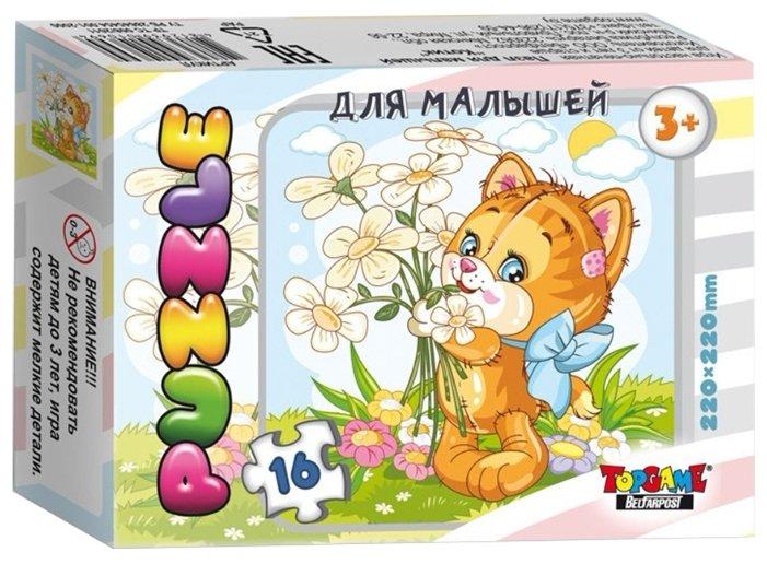 Пазл TopGame Пушистик Котик (01121/ББ18430), 16 дет.