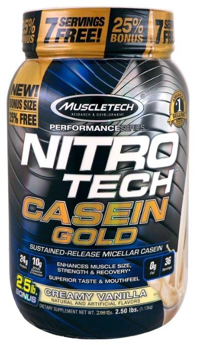 Протеин MuscleTech Nitro Tech Casein Gold (1.13 кг)