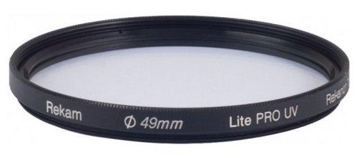 Светофильтр ультрафиолетовый Rekam Lite Pro UV 49 мм