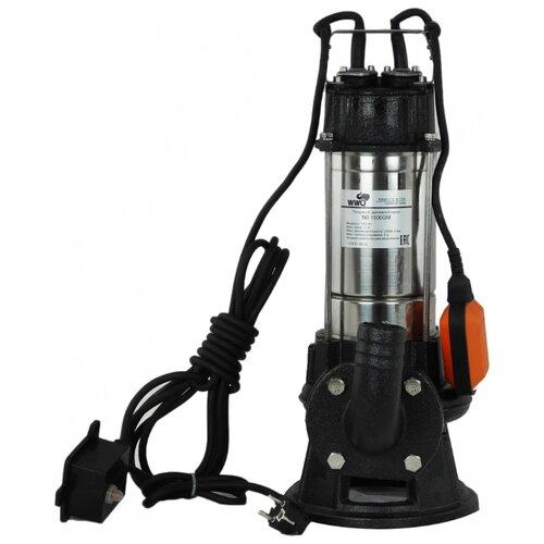 Фекальный насос WWQ NB-1500GM (1500 Вт) насос фекальный wwq nf 400 0 4 квт 133 л мин