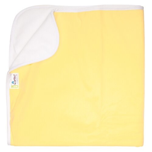 Купить Многоразовые пеленки GlorYes! впитывающая 100х120 нежно-желтый, Пеленки, клеенки