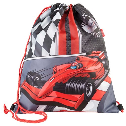 Купить Target Сумка для детской сменной обуви Формула 1 (17893) черный/красный, Мешки для обуви и формы