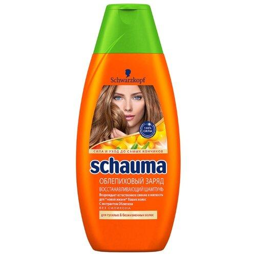 цена Schauma шампунь Облепиховый заряд 380 мл онлайн в 2017 году
