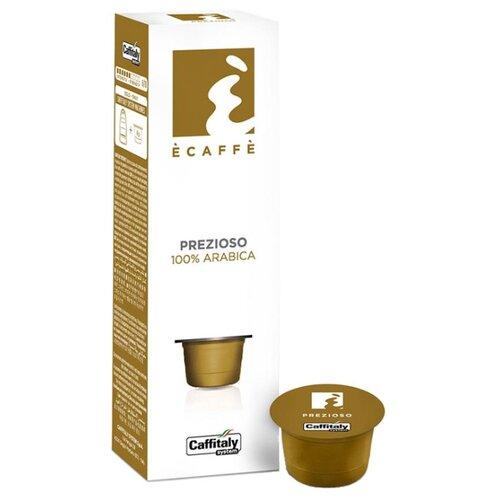 Кофе в капсулах Caffitaly Ecaffe Prezioso (10 капс.) кофе caffitaly кофе в капсулах mesico