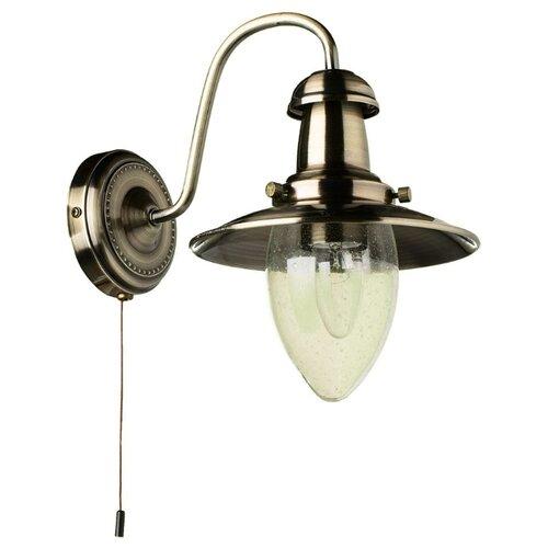 Фото - Бра Arte Lamp Fisherman A5518AP-1AB, с выключателем, 60 Вт old fisherman