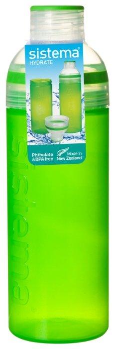 Бутылка Sistema Hydrate 840 питьевая Трио 0.7 л