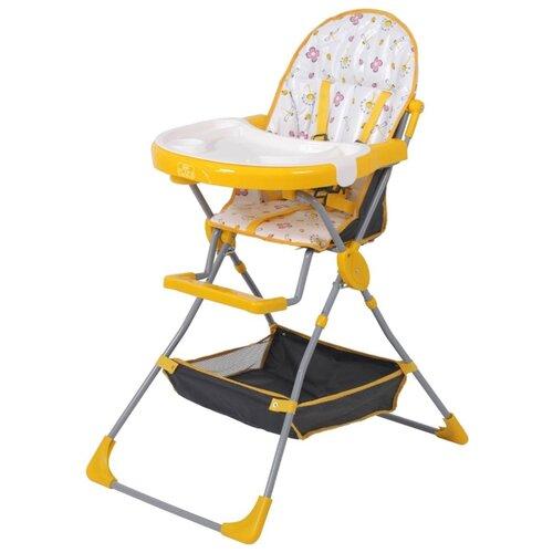 Фото - Стульчик для кормления Polini 252 желтый стульчик для кормления selby bh 431 желтый