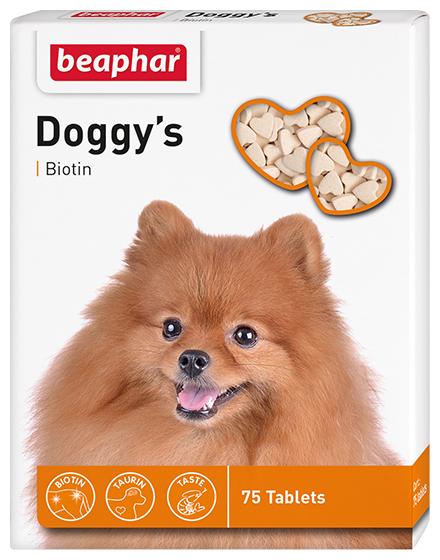 Добавка в корм Beaphar Doggy's Biotin,