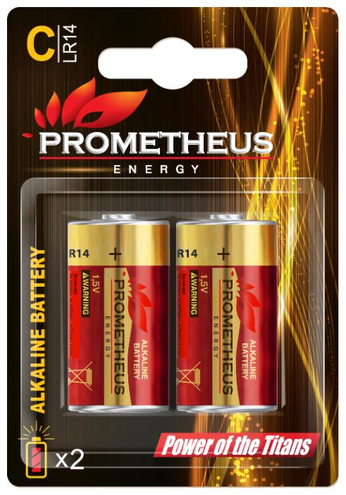 Батарейка Prometheus Energy C/LR14