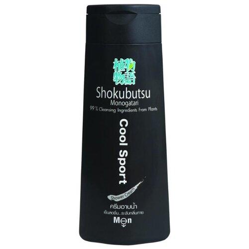 цена на Крем-гель для душа Shokubutsu Cool Sport, 200 мл